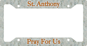 St. Anthony Plate Frame