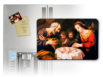 Nativity Scene Magnet