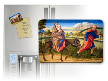 Flight Into Egypt Magnet