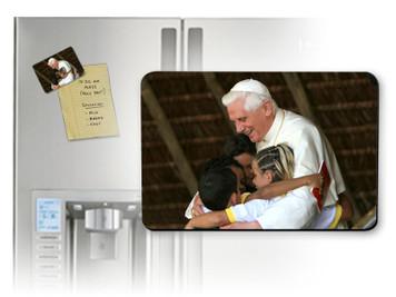 Pope Benedict with Children Magnet