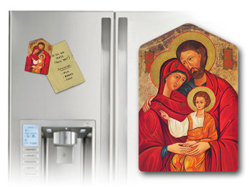 Holy Family Icon Magnet