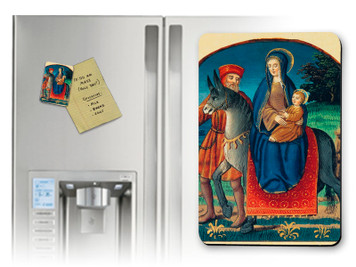 Flight Into Egypt (Medieval) Magnet