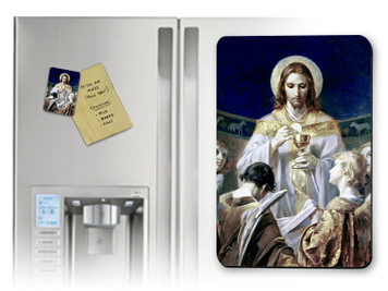 Christ, Bread of Angels Magnet