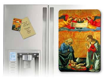 Nativity by Ghirlandaio Magnet