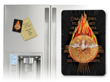 Holy Spirit with Fire Magnet