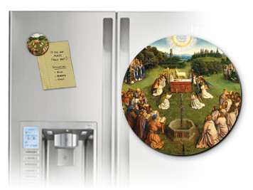 Altar of the Lamb Round Magnet