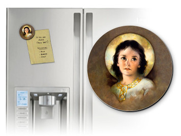 Christ Child Round Magnet