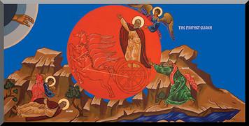The Prophet Elijah by Fr. Thomas Loya