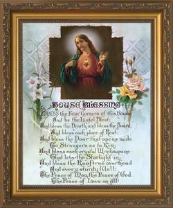 House Blessing Framed Art