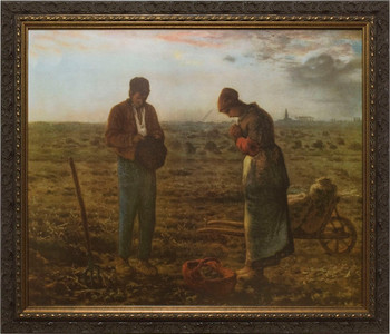The Angelus by Millet Framed Art