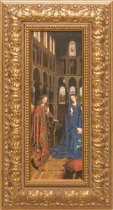 Annunciation by Van Eyck Framed Art