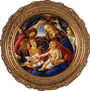 Madonna of the Magnificat Framed Art