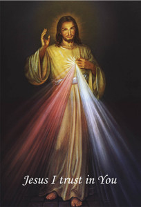 Divine Mercy Outdoor Image Plate