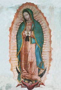 Our Lady of Guadalupe Outdoor Image Plate