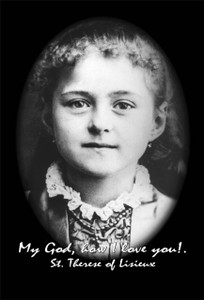 St. Therese of Lisieux (child) Outdoor Image Plate