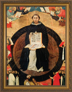 St. Thomas Aquinas Detail Framed Art