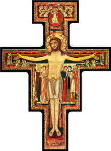 San Damiano Cross Visor Clip