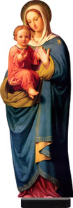 Our Lady With Child Jesus Standee