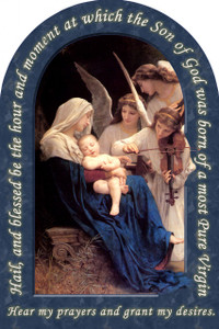 Song of the Angels Prayer Arched Magnet