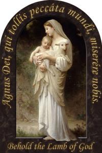 L'Innocence Prayer Arched Magnet