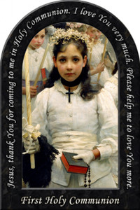 First Holy Communion Prayer Arched Magnet
