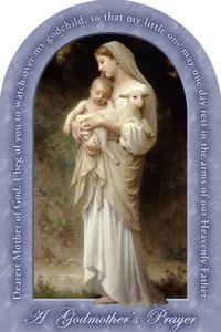 L'Innocence Godmother's Prayer Arched Magnet