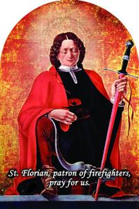St. Florian Arched Magnet