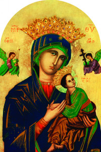 Our Lady of Perpetual Help Arched Magnet