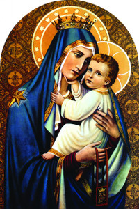 Our Lady of Mt. Carmel Arched Magnet