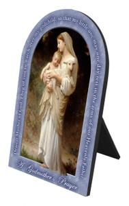 L'Innocence Godmother's Prayer Arched Desk Plaque