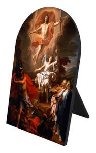 Resurrection Arched Desk Plaque