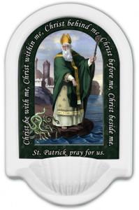 St. Patrick Prayer Holy Water Font