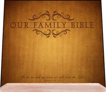 Our Family Bible Stand