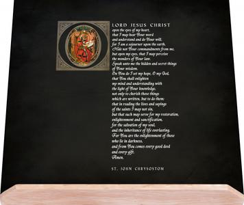 St. John Chrysostom Bible Stand