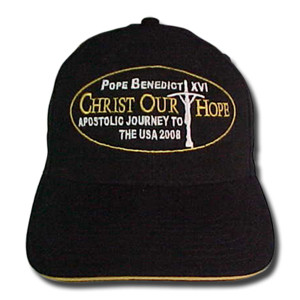 Pope Benedict's Apostolic Journey Hat