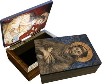 Sts. Francis and Clare Keepsake Box