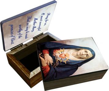 Our Lady of Sorrows Keepsake Box