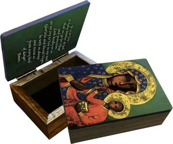 Our Lady of Czestochowa Keepsake Box