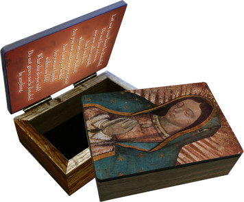 Our Lady of Guadalupe (Bust) Keepsake Box