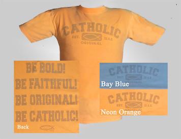 Catholic Original Tinted Children's T-shirt