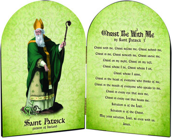 St. Patrick Arched Diptych