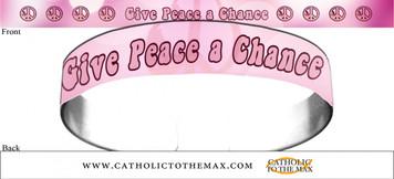 Give Peace A Chance Bracelet