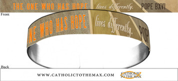 The One Who Has Hope Lives Differently Bracelet