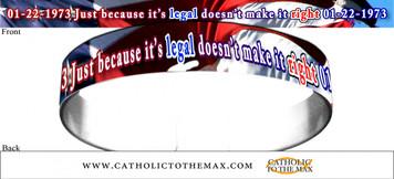 Just Because It's Legal Bracelet
