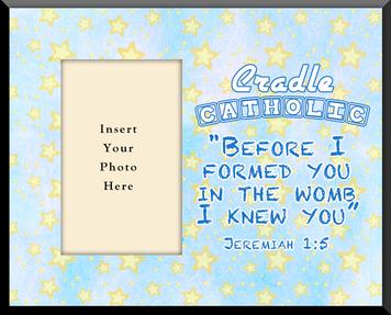 Cradle Catholic Photo Frame