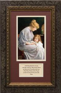 My Rosary with Prayer Framed