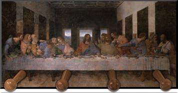 Last Supper Keychain Holder