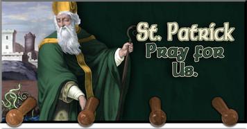 St. Patrick Keychain Holder