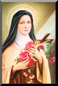 St. Therese of Lisieux Wall Plaque