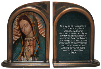 Our Lady of Guadalupe (Bust) Bookends